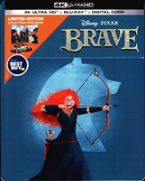Brave 4K SteelBook (BD + Digital Copy)(Exclusive)