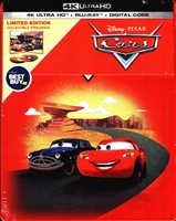 Cars 4K SteelBook (BD + Digital Copy)(Exclusive)