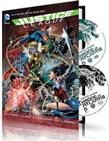 Justice League: Throne of Atlantis w/ Graphic Novel (BD/DVD + Digital Copy)(DigiBook)