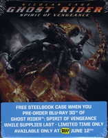 Ghost Rider: Spirit of Vengeance SteelBook (EMPTY)(Exclusive)