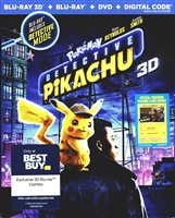Pokemon: Detective Pikachu 3D (BD/DVD + Digital Copy)(Exclusive)