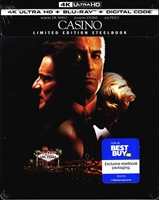 Casino 4K SteelBook (BD + Digital Copy)(Exclusive)