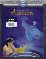 Aladdin w/ Lenticular Slip (1992)(BD/DVD + Digital Copy)(Exclusive)