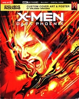 Dark Phoenix 4K DigiPack (BD + Digital Copy)(Exclusive)