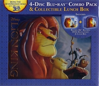 The Lion King 3D w/ Lunch Box (1994)(BD/DVD + Digital Copy)(Exclusive)