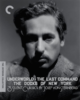 3 Silent Classics by Josef von Sternberg: Criterion Collection DigiPack