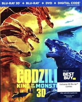 Godzilla: King of the Monsters 3D (BD/DVD + Digital Copy)(Exclusive)