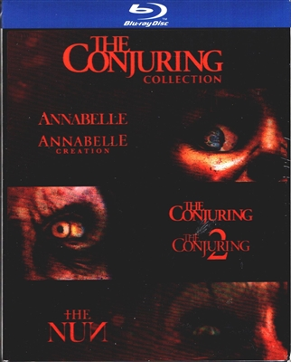 The Conjuring Universe Collection: The Conjuring 1 & 2 / Annabelle 1 & 2 / The Nun w/ Lenticular Slip