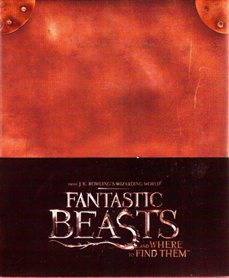 Fantastic Beasts and Where to Find Them 4K 1-Click SteelBook (Hong Kong)
