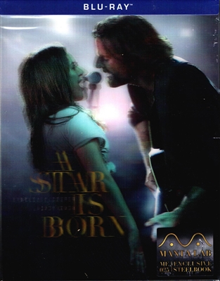 A Star is Born: Extended Cut Lenticular B SteelBook (2018)(Hong Kong)