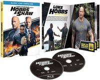 Fast and Furious Presents: Hobbs and Shaw w/ Booklet (BD/DVD + Digital Copy)(Exclusive)