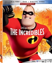 The Incredibles (BD/DVD + Digital Copy)(Re-release)