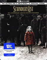 Schindler's List 4K SteelBook (BD + Digital Copy)(Exclusive)