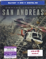 San Andreas SteelBook (BD/DVD + Digital Copy)(Exclusive)