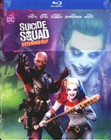 Suicide Squad: Extended Cut SteelBook (Illustrated Cover)(Exclusive)
