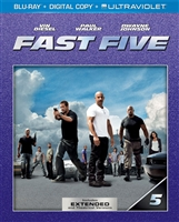 Fast Five (BD + Digital Copy)(Slip)