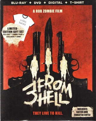 3 From Hell: Unrated w/ T-Shirt (BD/DVD + Digital Copy)(Exclusive)