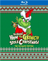Dr. Seuss' How the Grinch Stole Christmas: Ultimate Edition w/ Ugly Sweater Slip (1966)(BD/DVD + Digital Copy)