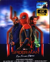 Spider-Man: Far From Home 3D & 4K SteelBook w/ Lenticular Magnet (Czech)