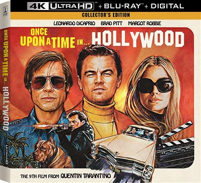 Once Upon a Time in Hollywood 4K: Collector's Editon (BD + Digital Copy)