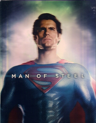 Man of Steel 3D Full Slip SteelBook (Hong Kong)