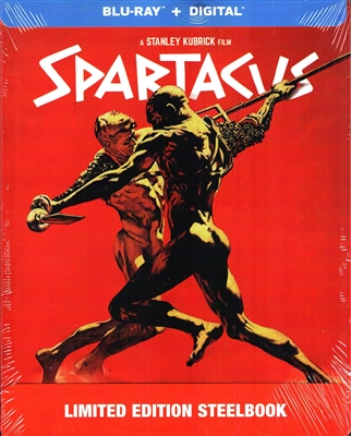 Spartacus SteelBook (Exclusive)