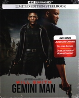 Gemini Man 4K SteelBook (BD + Digital Copy)(Exclusive)