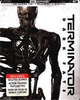 Terminator: Dark Fate 4K SteelBook (BD + Digital Copy)(Exclusive)