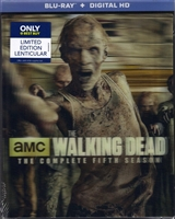 The Walking Dead: Season 5 w/ Exclusive Slip (BD + Digital Copy)
