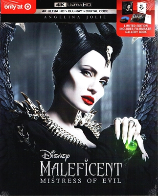 Maleficent: Mistress of Evil 4K DigiPack (BD + Digital Copy)(Exclusive)