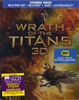 Wrath of the Titans 3D SteelBook (BD/DVD + Digital Copy)(Exclusive)