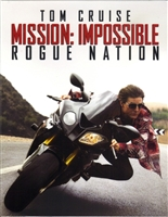 Mission: Impossible - Rogue Nation Full Slip #1 SteelBook (Czech)