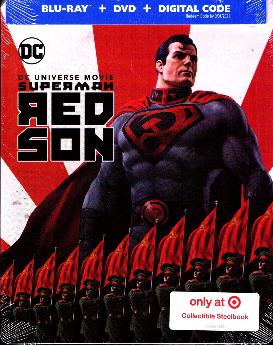 Superman Red Son Steelbook Bd Digital Copy Exclusive
