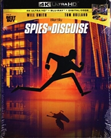 Spies in Disguise 4K SteelBook (BD + Digital Copy)(Exclusive)
