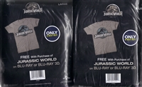 Jurassic World 2D or 3D (+Bonus Disc Option) w/ T-Shirt (BD/DVD + Digital Copy)(Exclusive)
