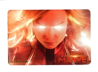 Captain Marvel Disney Movie Club Lithograph