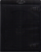 Empty 1-Disc Clear Black Blu-ray Case (11mm)