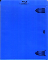 Empty 1-Disc Blue Blu-ray Case (11mm)