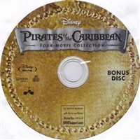 Pirates of the Caribbean Four Movie Collection Bonus Disc