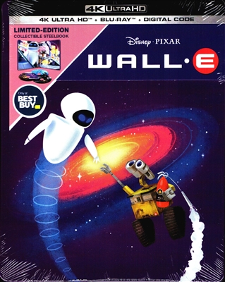 Wall-E 4K SteelBook (BD + Digital Copy)(Exclusive)