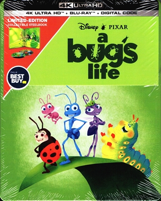 A Bug's Life 4K SteelBook (BD + Digital Copy)(Exclusive)