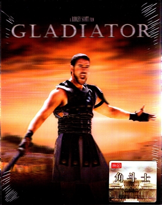 Gladiator 4K Lenticular HDZeta SteelBook (China)