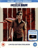 American Made SteelBook (BD + Digital Copy)(UK)