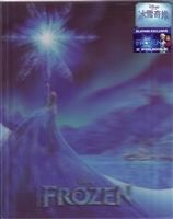 Frozen 3D Lenticular SteelBook (Elsa Version)(China)(Blufans #13)