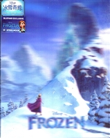Frozen 3D Lenticular SteelBook (Anna Version)(China)(Blufans #13)