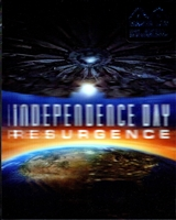 Independence Day: Resurgence 3D Lenticular SteelBook (Hong Kong)