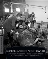 David Lean Directs Noel Coward: In Which We Serve / This Happy Breed / Blithe Spirit / Brief Encounter - Criterion Collection DigiPack