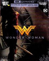 Wonder Woman 4K SteelBook (Re-re-release)(2017)(BD + Digital Copy)(Exclusive)