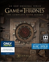 Game of Thrones: Season 5 SteelBook (BD + Digital Copy)