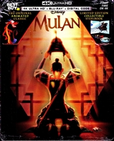 Mulan 4K SteelBook (1998)(BD + Digital Copy)(Exclusive)